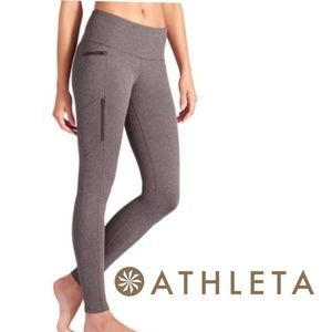 Athleta Sly Drifter Herringbone Leggings Tights